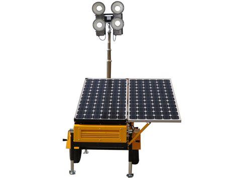 Solar Light Towers Mobile Solar Light Solar Lighting Tower Solarproducts
