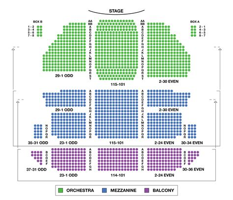 st theater seating plan st theatre large broadway seating charts