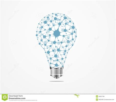 creative light bulb idea medical stock illustration
