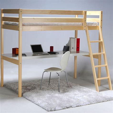 lit mezzanine 1 place avec bureau lit mezzanine 1 place avec bureau 90x190cm aspen