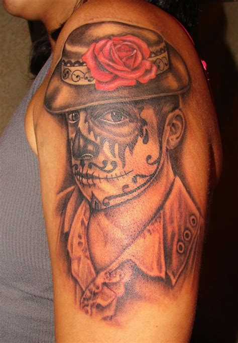 tattoo nightmares day of the dead 60 day of the dead tattoos you will want to get asap