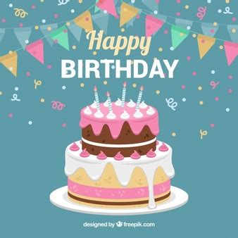 happy birthday table design cake vectors photos and psd files free download