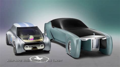 rolls royce 103ex rolls royce 103ex vision next 100 concept youtube