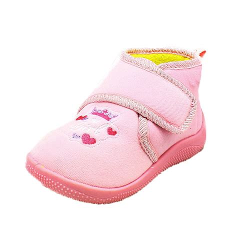 princess slippers for childrens slippers bootees with princess crown to