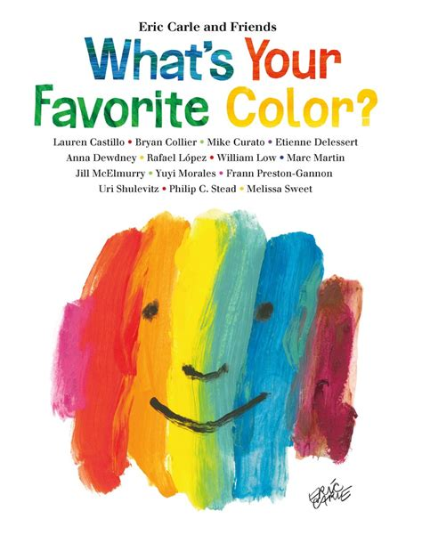 whats my favorite color what s your favorite color eric carle macmillan