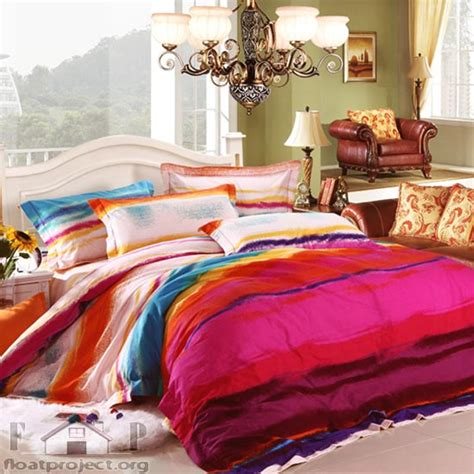 Colorful Bedding Sets Bedding Set For Size Beds Home Designs Project