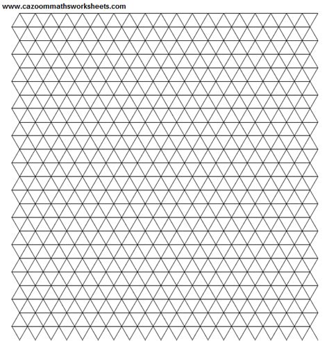 Printable Graph Paper Triangle | 17 best images of blank multiplication worksheets blank