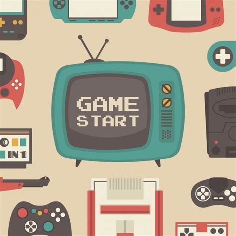 free pattern games online pattern about video games vector free download
