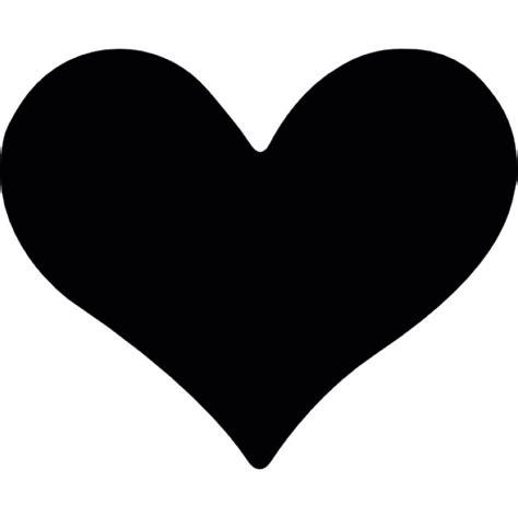 imagenes corazon en negro la forma del coraz 243 n en negro descargar iconos gratis