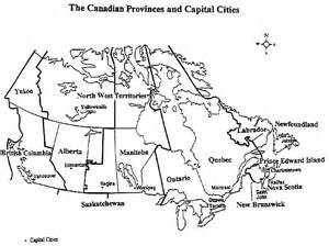 map of canada territories and provinces with capitals map of canada with provinces and capitals