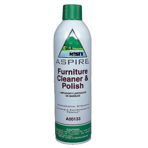 upholstery cleaning products aspire furniture cleaner polish 12 16 oz aerosol