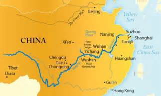 Rivers In China Map by Yangtze River Location Images Amp Pictures Becuo