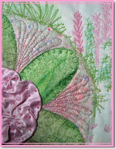 quilting art tutorial 1000 images about thread painting on pinterest the