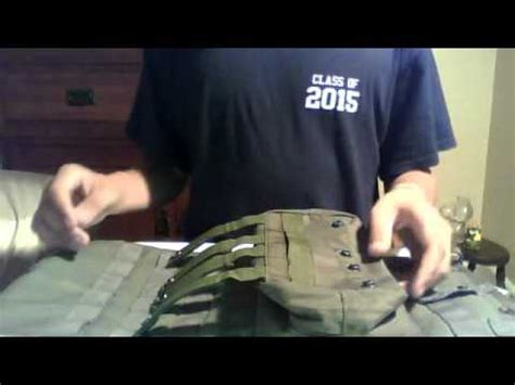how to use molle how to use molle