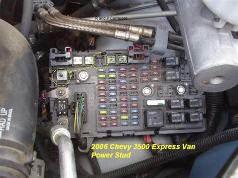 Chevrolet Express Fuse Box Location 1 Wiring Diagram Source