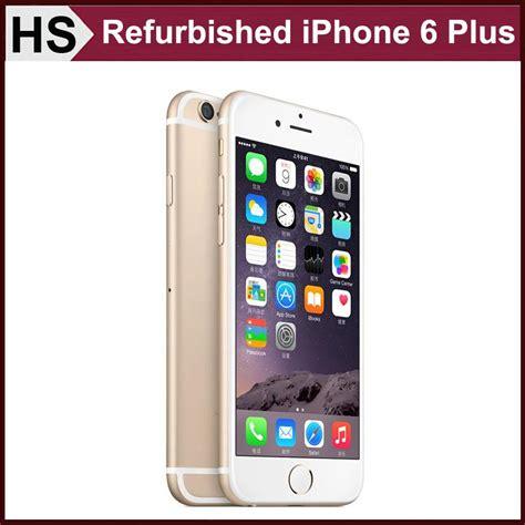 original refurbished iphone 6 plus 5 5 4g lte unlocked apple cell phone ios 9 16gb 64gb rom 8