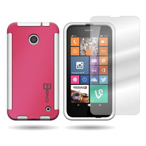 Invisible Shield Screen Protector For Nokia Lumia 635 for nokia lumia 635 stylish tpu hybrid cover and