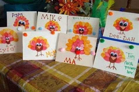 Thanksgiving Handmade Decorations - different ideas for thanksgiving cards family