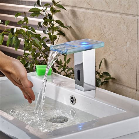 Kran Wastafel Automatic Sensor Touchless Basin Faucet Bathroom Sink kopen wholesale touchless kraan uit china touchless