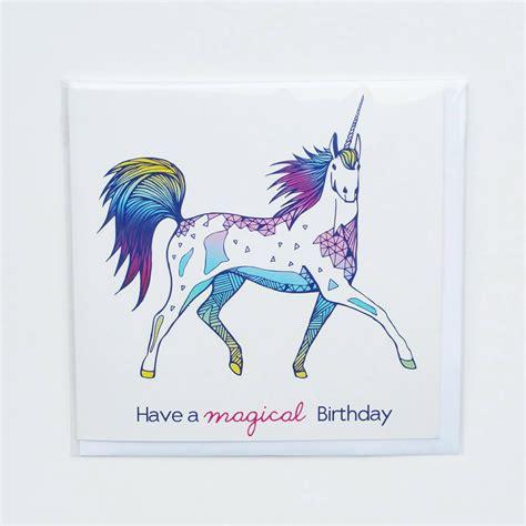 unicorn cards unicorn birthday card unicorn card by clarecorfieldcarr