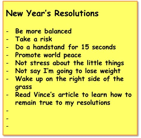 50 best new year resolution 28 images top new years