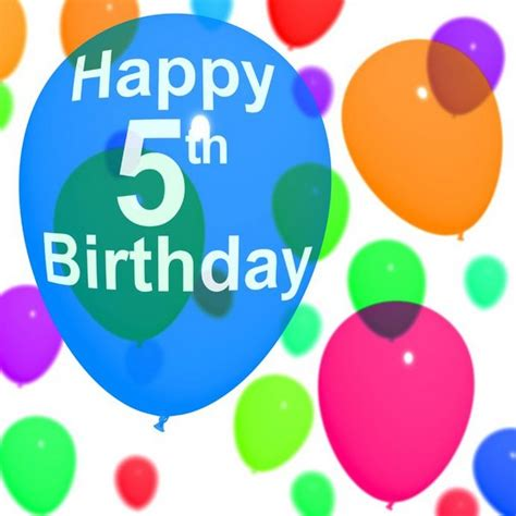 Happy 4th Birthday Wishes To My The Awesome Birthday Messages For 5 Years Old Wishesgreeting