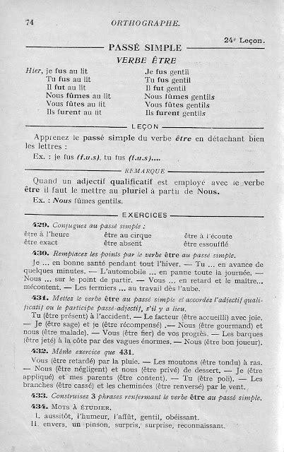 Manuels anciens: Bled, Cours d'orthographe CE-CM1 (1956)