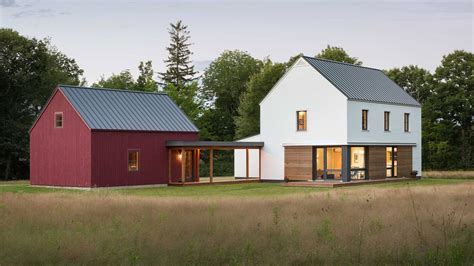 prefab homes from go logic offer rural modernism