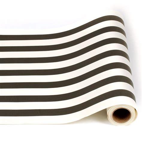 striped paper table runner stripe paper runner black white table