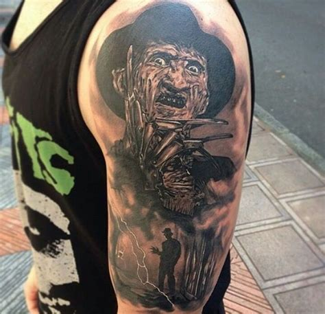 freddy krueger tattoo horror ink фредди крюгер