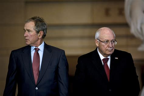 bush and cheney how they america and the world books cheney snarls his defense of waterboarding