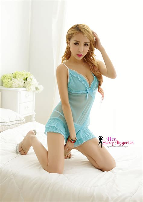 Bs0006 Babydolls Bodysuit Baju Tidur transperent lace ribbon cake dress babydoll sleepwear