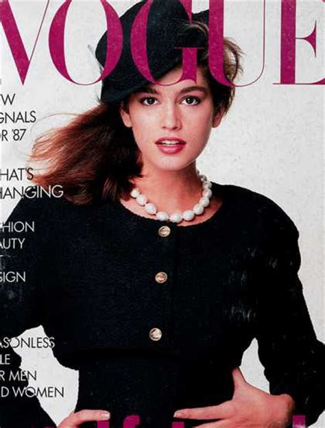230 Vogue Covers History Of Fashion In Pictures january 1987 230 vogue covers