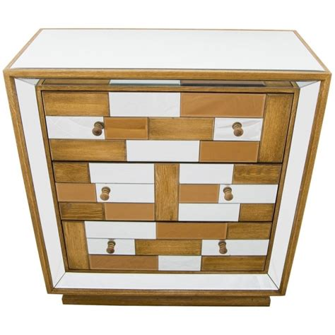 Mirrored Chest Of Drawers Uk by Bronze Mirrored Chest Of Drawers Furniture From