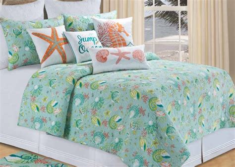 beach themed coverlets beach themed quilts style best house design relaxing
