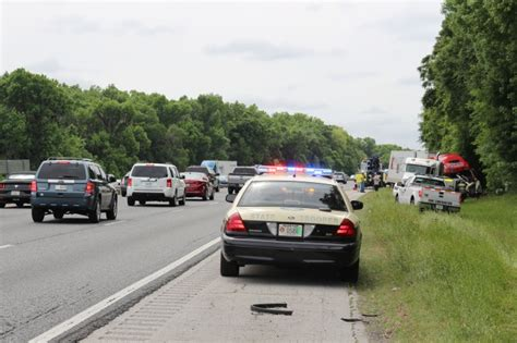 ocala post fatal  vehicle crash     mile marker