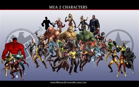 official marvel ultimate alliance 2 character list marvel ultimate alliance unlock characters atalta