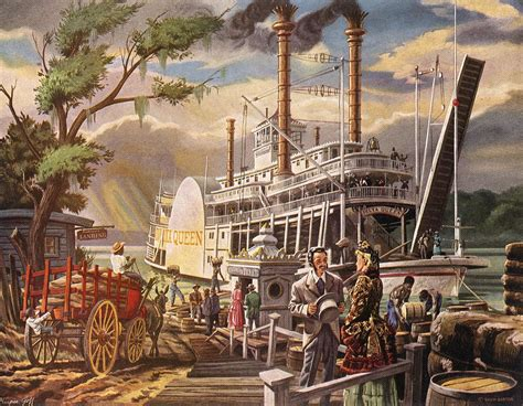steamboat art steamboats online museum dave thomson wing