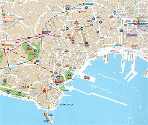 naples italy map map of naples italy