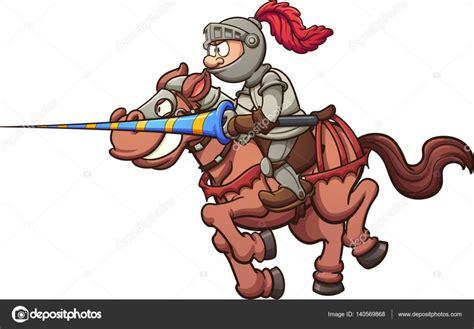 imagenes animadas knight rider cartoon jousting knight stock vector 169 memoangeles