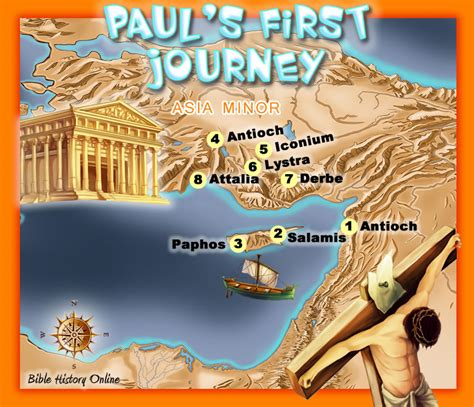 a journey through acts the 50 day bible challenge books paul s journey bible maps