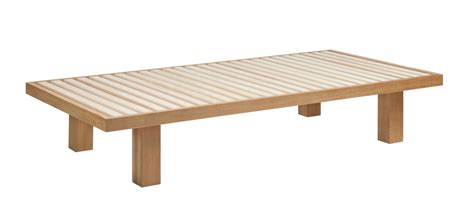 futon einzelbett lit futon japonais 100x200 naturel the shop