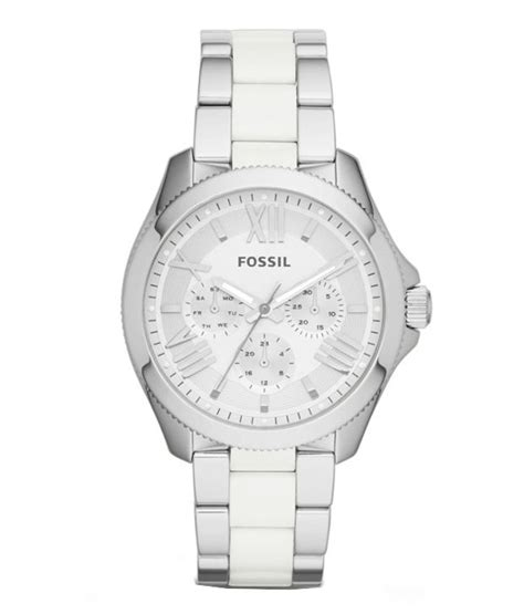 fossil am4544 silver price in india buy
