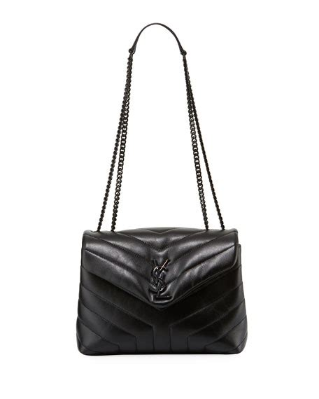 saint laurent monogram ysl loulou small chain shoulder bag