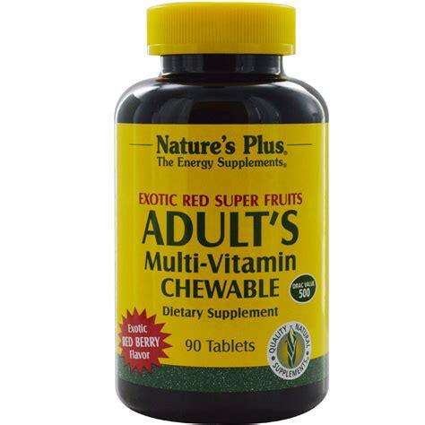 Multivitamin Plus nature s plus s multi vitamin chewable