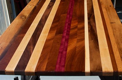 Top By Unique crafted reclaimed wood countertop custom tabletop