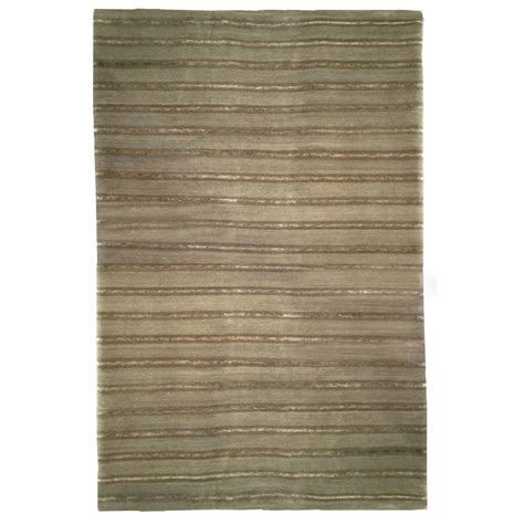 Modern Green Rug Tufenkian Modern Green Olive Stripes Wool Rug 4815 Andonian Rugs Seattle Bellevue