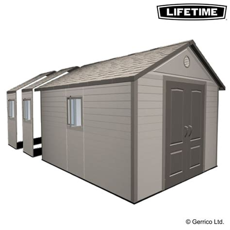 Lifetime Shed Foundation by Lifetime 11x21 Plastic Apex Shed