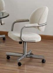 tempo furniture dayton swivel tilt caster dinette chair