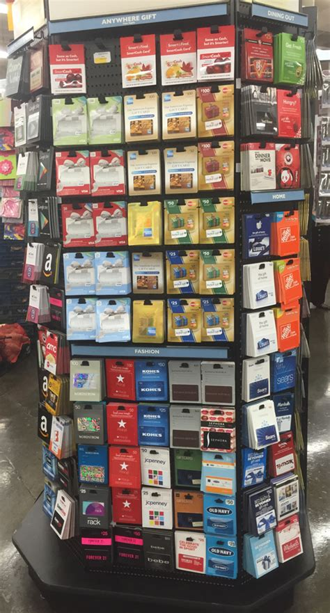 Wal Mart Com Gift Cards - amex offer 25 statement credit on 50 smart final purchase pics of gift card rack